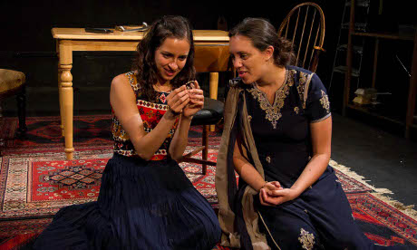 Scene from Ayndrilla Singharay's Unsung to be performed at Wilton's Music Hall