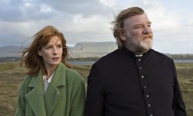 Brendon Gleeson and Kelly in Calvary