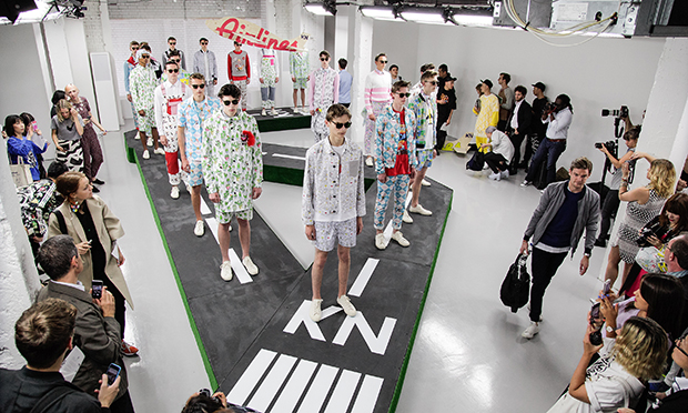 Kit Neale SS15 designs at London Collections: Men
