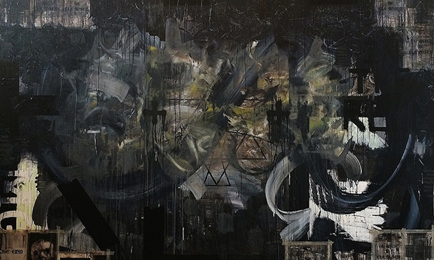 Details from The End of Days by Zavier Ellis