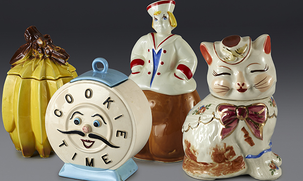 Smart cookie: Andy Warhol's cookie jar collection.