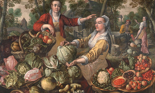 The Four Elements: Earth by Joachim Beuckelaer. Courtesy of the National Gallery