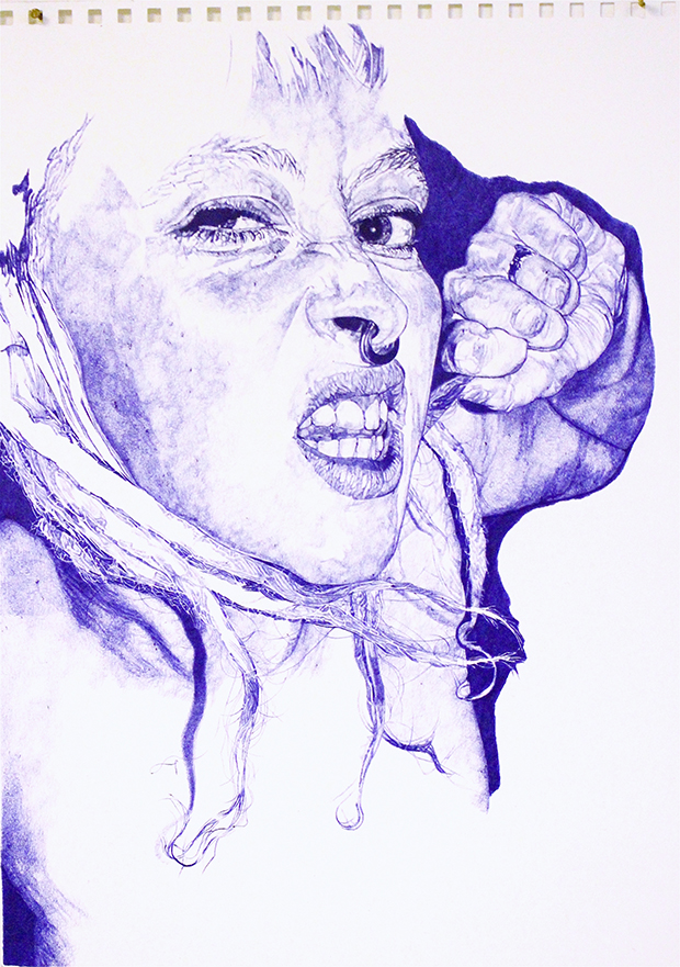 Biro drawing – Sarah Muirhead 620