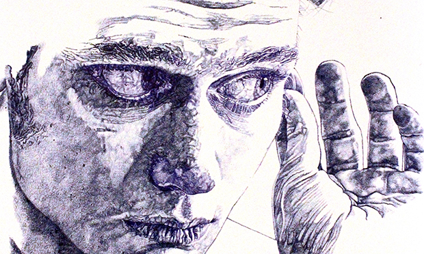 Biro drawing cropped Sarah Muirhead drawing