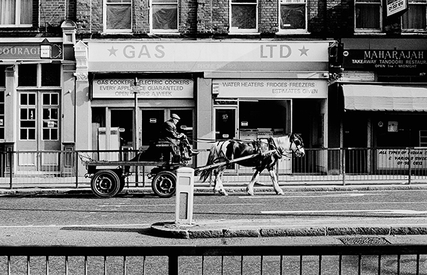 Horse and cart in Hackney