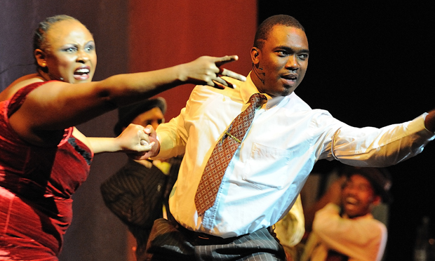 "The Mandela Trilogy - an ""epic operatic tribute."" Photograph: John Snelling"
