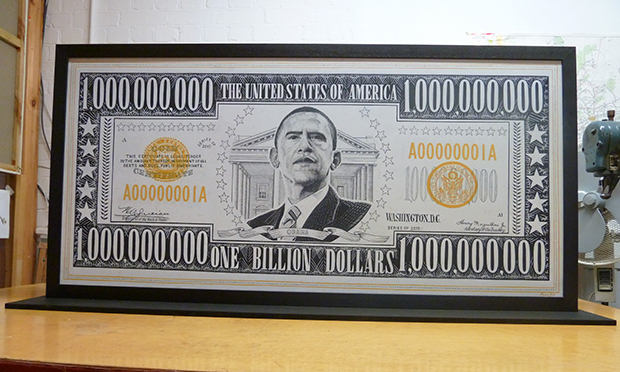 The first billion-dollar bill