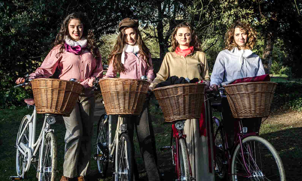 The Handlebards' all-female troupe. Photograph: The Handlebards