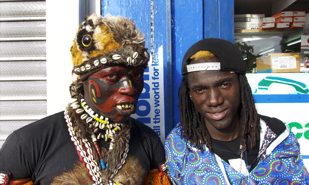 An image from Dalston Carnival, which features in Dalston Street Show. Photograph: Tom Ferrie