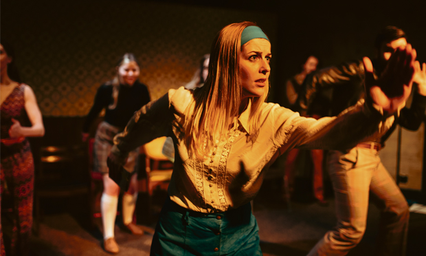 Generation sex - The Wardrobe Company on stage. Photograph: Jack Offord