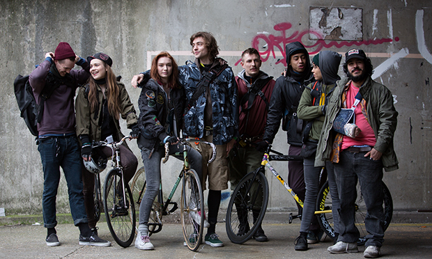 The cast of Alleycats
