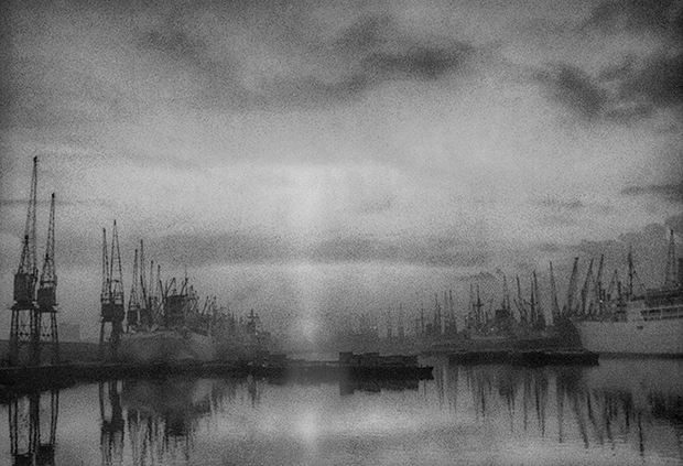 East End by John Claridge_London docks 1964_ 620