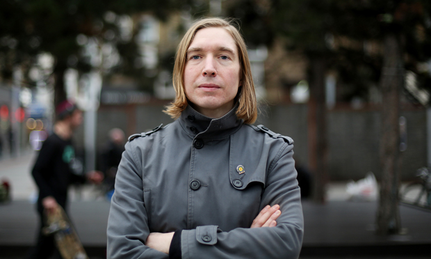 Sound artist Graham Dunning. Photograph: Alex Zalewska